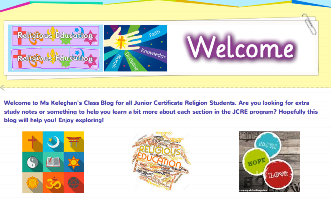 New Blog for Students!